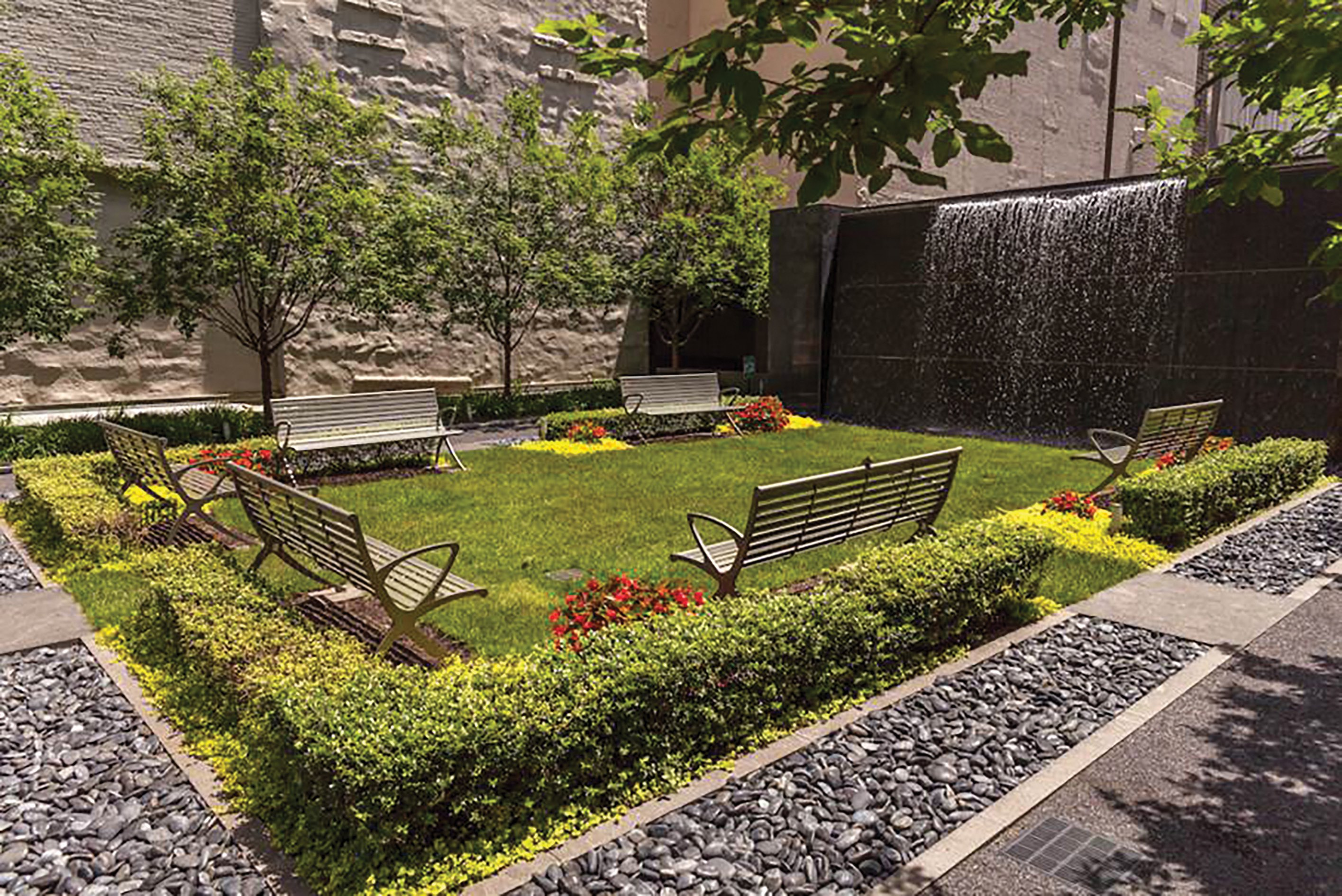 Residences Garden waterwall – 25